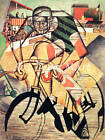 At The Cycle Racetrack - CANVAS OR PRINT WALL ART
