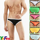 Seven colors NWT NEW Male Underwear Mens Sexy Briefs Shorts Tanga Bulge Pouch