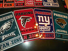 NEW NFL 12x18 Licensed Football Fan Parking Signs - ALL TEAMS AVAILABLE!!!