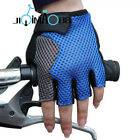 Sales NEW Cycling Bike Bicycle Half Finger breathe freely Gloves Size M-XL Blue