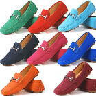 US5-9 suede Leather Comfort Slip On flat loafer ballerina Women ballet Shoes
