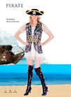 Womens beautiful  fancy dress costume  Pirate costume 3 sizes