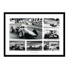 British Grand Prix Legends  - Formula One Photo Memorabilia (BGPMU6)