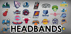 SALE! NBA Team Headband Sweatband Logoman - Several Teams Available- Worn by NBA