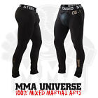 Caged Steel Compression Pants and Cup - Black - [MMA ,UFC, Groin Guard, Shorts]