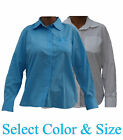Womens Machu Picchu Collection Classic Top Long Sleeve Cotton Designer Shirt