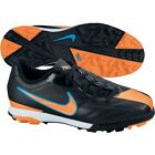 Nike TOTAL 90 SHOOT IV TF TURF 2011 SOCCER SHOES BLACK/BLUE/ORAN NEW KIDS YOUTH