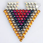 2/3/4/5/6mm A-Grade Flatback Round Rhinestones 1000/2000/5000pcs Craft 25+ Color
