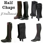 Adult Half Chaps English..JT International..Assort. Sizes, Colors & Styles..NEW!