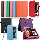 """LEATHER STAND CASE COVER FOR AMAZON KINDLE FIRE HD 7 7"""" TABLET WITH STYLUS PEN"""