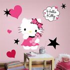 Hello Kitty - Couture Peel & Stick Giant Removable Wall Decals Stickers