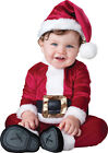 BABY SANTA INFANT TODDLER COSTUME Holiday Christmas Party Photo Opp Halloween