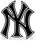 NY New York Logo Yankees USA Iron On T-shirt Hoodie Vest Heat Transfer Print