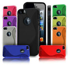 GRIP S-LINE WAVE SILICONE GEL CASE FITS APPLE IPHONE 5 FREE SCREEN PROTECTOR