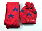 Warm Children Baby Boys Girls Toddle Star Beanie Hat Cap Scarf neckerchief 0987