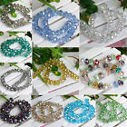 30pcs Findings Charms Glass Crystal Faceted Ball Spacer Beads 6mm U Pick Color