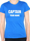 CAPTAIN - Personalised with your name Nautical / Sailing Themed Women's T-Shirt