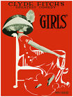 520.Clyde Fitchs Comedy Girls Art Decor POSTER. Graphics to decorate home office