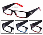 Clear Lens Classic Rectangular Frame Glasses Translucent Colors 4 To Choose From