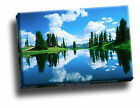 Alpine Lake, Gunnison National Forest Giclee Canvas Framed Wall Art  Picture