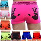 New Mens Boys Hand Print Neon Boxer Shorts Pants Briefs Underwear Boxers Size