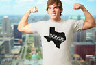 Silver Grey Texas Secede Branded New tshirt tee shirt men's mens rebel gift