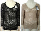New Ladies WALLIS Kimono Tunic Jumper Crochet Womens Top 8 10 12 14 16 18