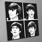 THE BEATLES STYLISH PRINT ON CANVAS - Stunning Framed Wall Art - Choose Size