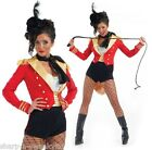 Ladies Sexy Ringmaster Circus Carnival Fancy Dress Costume Outfit inc Plus Size