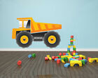 GIANT DUMPER TRUCK Wall Art - Construction / Builder / Children's Themed Decal