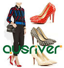 Brand New Womens Sexy Revits Mid Heels Office Lady Pointed Toe Shoes Pumps 2013