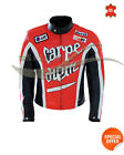 Carpe Diem Motorcycle Leather Jacket any size motor bike mens leather jacket