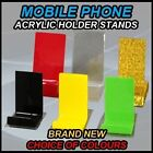 BRAND NEW ACRYLIC MOBILE PHONE STAND HOLDER FOR RETAIL SHOP CABINET DISPLAY