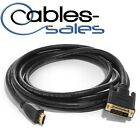 1.5ft 24+1 DVI-D Male to Male HDMI Cable Gold Plated For HDTV HD PC PS3 XBOX