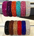 Gorgeous Sparkly Fabulous Rhinestone Crystal Bangles Beautiful Colours by Chi22