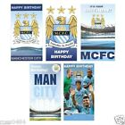 Manchester City FC Birthday Card Selection (Some With Badge, Music...) Gift