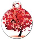 LOVE BIRDS - Custom Personalized Pet ID Tag for Dog and Cat Collars