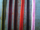 "Vintage VELVET 1/4"" RIBBON 5 yards SWITZERLAND"