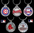 CHOOSE TEAM Key Chain Ring New Official MLB Solid Pewter Keychain Keyring
