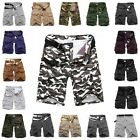 Stylish Casual Men's MILITARY Cargo Short Trousers Pants Army Camouflag-16 Types