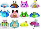 Childrens Kids GIRLS BOYS UMBRELLAS BROLLYS Parasol GIFT PRESENT NOVELTY CARTOON