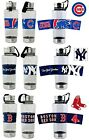 CHOOSE TEAM 1 Water Bottle MLB BIG 24oz Grip Band Stainless Steel Attached Lid