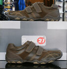 Route 21 Mens Brown Velcro strap trainers casual Smart shoes UK size UK 6-12