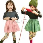 Girls Kids Long Sleeve Top Dress Hollow Tutu Party Costume Skirt Clothing SZ 2-6