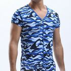 2013 fashion new cool very Sexy Men's Camouflage Short Sleeve T-shirt4 Size S~XL