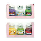 NEW 2013 YANKEE CANDLE SPRING FLORAL SUMMER FRUIT 3 SMALL JAR GIFT SET BOXED