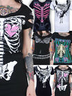 NEW ROCK PUNK GOTH TSHIRT TOP VINTAGE 50S 80S DARK STEAMPUNK METAL ROCKABILLY