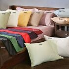 WATERBED SHEET 1000TC STRIPE 100% COTTON SELECT SIZE&COLOR + FREE SHIPPING