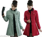 New Korean bow wool winter coat Nepalese woolen jacket and long sections Women