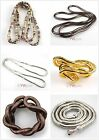 1pcs Mixed Snake Chains Necklace/Bracelet Bendy Flexible 90cm FREE SHIP